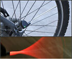 1pair New Cycling Bike Bicycle Wheel Spoke Tire Steel Wire LED Light Lamp Red
