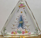 """Mikasa Glass Nuts/Candy/BonBon Dish/Plate Holiday Gifts 10"""" New in Box WY168/602"""