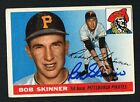 Bob Skinner #88 signed autograph auto 1955 Topps Baseball Trading Card