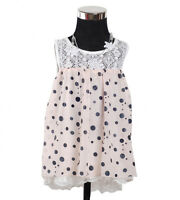 New Baby Girls White and Pink Party Dress 9-12 Months