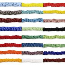 11/0 Czech Seed Beads, 1 Hank Small Little Glass Spacers Many Opaque Colors