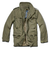 M65 Field Jacket Olive Green or Black Army Style with Liner sizes XS to XXL