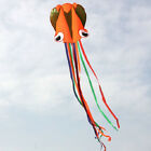 4m Green Octopus Soft Kite free fly line LD054