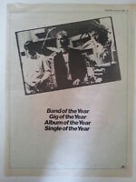 The Jam Band, Gig, Single of the Year 1981 Trade Press Advert Poster Size weller