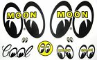 Moon Eyes Decals Hot Rat Rod Car Stickers Drive In Movies Street Drag Races