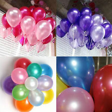 "100pcs 10"" wholesale Latex Helium Ballons Wedding Party Birthday Decoration"