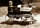 THE OLD RAILROAD ENGINE TRAIN RXR PEDAL CAR AND LITTLE ENGINEER PHOTO 2