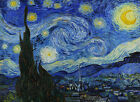 VAN GOGH - Starry Night - EXTRA LARGE CANVAS PRINT A1 Size
