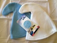 Smurf Smurfette Gnome hat and Blue Face Paint Makeup ~ Fancy Dress