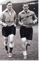 SIR TOM FINNEY & NAT LOFTHOUSE double signed A4 ENGLAND