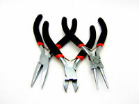3 x Jewellery Making Pliers 1 x Round Nose 1 x Long nose 1 x Side Cutter Kit N71