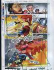 J Buscema Marvel proof art page:Thor/Silver Surfer/Captain America/Scarlet Witch