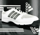 New Mens Adidas White Golflite 4 S WD Golf Shoes Trainers Size 8.5 UK EU 42 2/3