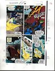 1988 Avengers 291 page 16 Marvel color guide art: Thor/She-Hulk/John Buscema