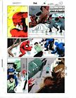 Rare 1 of a kind 1992 Daredevil 302 page 20 Marvel Comics color guide art:1990's