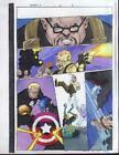 X-Men/Captain America X-Man Marvel Comics color guide art 16 page 5
