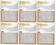 3M Filtrete Basic White Pleated Air Furnace Filter - MPR Rating 250 - (6 Pack)