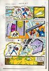 1980's Captain America Annual 7 page 24 Marvel Comics original color guide art