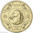 2014 Year of the Horse $1 Uncirculated Coin Lunar Series