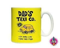 DADS TAXI THE TRUTH ABOUT MUM AND DAD LARGE TEA COFFEE MUG CUP NEW IN GIFT BOX