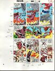 1989 Avengers 312 page 18 Marvel Comics color guide art: Falcon/Scarlet Witch