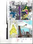 1988 Buscema Avengers 292 page 22 Marvel Comics original color guide art: 1980's