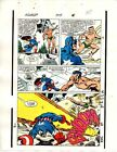 1989 Avengers 309 page 20 Marvel color guide art: Captain America/Submariner