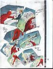 Original 1997 Daredevil 360 page 19 Marvel Comics color guide comic art: 1990's