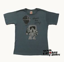Star Wars Where The Party stormtrooper Junk Food Vintage Adult Shirt S-XXL