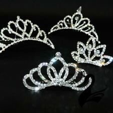Tiara Quality Diamante Rhinestone & Metal Comb - Dance Costumes