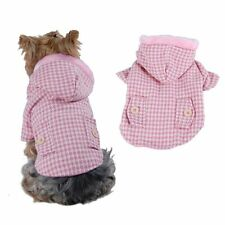 Winter Puppy Dog Pet Soft Clothes Jacket Hoodie Coat Apparel Us Seller