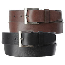 Timberland Mens 35MM Casual Belt Genuine Leather Rugged Classic Jean Belt 32-42