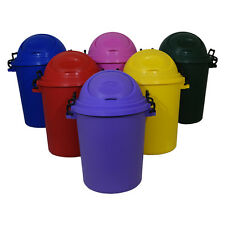 50 Litre Bullet Bin Rubbish Equestrian Kitchen Storage Garden Recycling Feed Dog