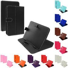 Universal 7 Inch Folio Flip Case Stand Cover Accessory 7In for Tablets