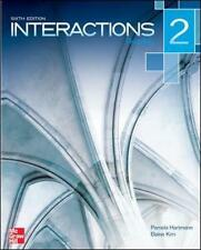 NEW Interactions Level 2 Reading Student Book Plus Registration Code for Connect