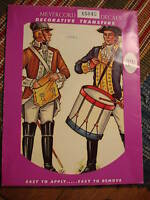 Vintage MEYERCORD DECALS TRANSFER Soldiers