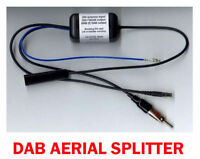 AERIAL SPLITTER FOR DAB ON FACTORY HEAD UNIT AUTOLEADS 06-536