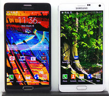 Samsung Galaxy Note 4 AT&T Sprint T-Mobile Verizon Black White Android Phone