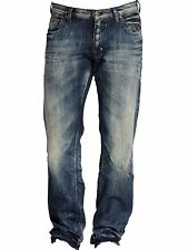 PRPS Goods and Co. Jeans Barracuda Dark Blue Regular Fit Straight Leg E61P86X