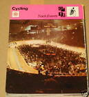Track events SC cycling Collector card