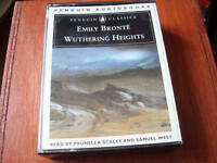 EMILY BRONTE audio book cassette tape  WUTHERING HEIGHTS