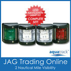 12V SIDE MOUNT LED NAVIGATION LIGHT SET-Port/Starboard/Stern/Masthead-Boat/Yacht