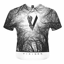 VIKINGS Forest ALL OVER PRINT T-SHIRT NEU