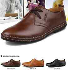 New 2015 European style Genuine leather Shoes Men's oxfords Casual Dress Shoes