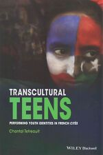 NEW Transcultural Teens by Chantal Tetreault Paperback Book (English) Free Shipp