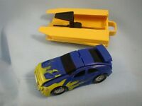 Toy Pop Up, Blue/Yellow Race Car with Launcher, 142/080