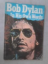 Bob Dylan in His Own Words (In Their Own Words) Very Good Book