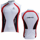 DekoTethys Sleeveless Bike Cycle Top Jersey in Cool Vento Size S to XXL