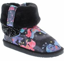 IRON FIST MY LITTLE PONY LADIES BLACK LOW FUGG BOOTS US SIZE