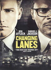 CHANGING LANES (DVD, 2002, Widescreen) New / Factory Sealed / Free Shipping